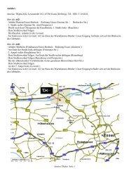 Anreis über die A42: - TKplus KG