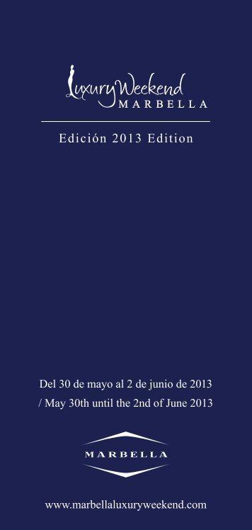 Edición 2013 Edition