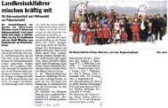 07.04.2011 Hallo - Bericht Regionalcup-Finale - TSV Neuried