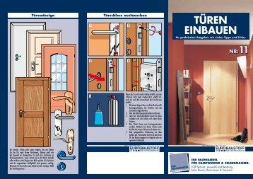 """Nr. 11 """"Türen einbauen"""" - BauSpezi Marks"""