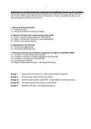 Handlungsempfehlung Artenschutz Bauen - Architektenkammer ...