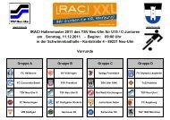 Spielplan U15 - TSV 1880 Neu-Ulm