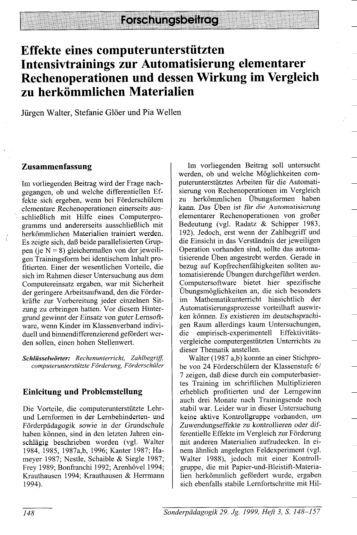 Glöer, S. & Wellen, P.