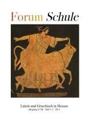 Forum Schule Heft 1-3 2011.pdf - Hessischer Altphilologenverband