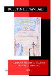 boletin vertical - Cofradía del Cristo Yacente del Santo Sepulcro