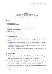 Anlage 5 zum Netznutzungsvertrag Mitnutzungsvertrag (PDF, 20 KB)
