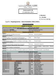 incaricati e referenti per l'a - Liceo Statale