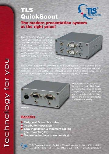 Technology for you - TLS Communication GmbH