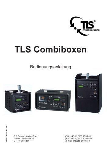 Bedienungsanleitung - TLS Communication GmbH