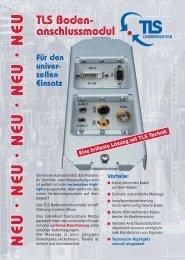 Bodenanschlussmodule (BAM).pdf - TLS Communication GmbH