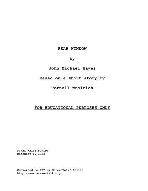 Juno Script Pdf