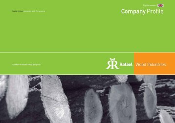 Company Profile - Rafael Wood Industries