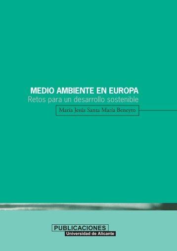 MEDIO AMBIENTE EN EUROPA - RUA - Universidad de Alicante