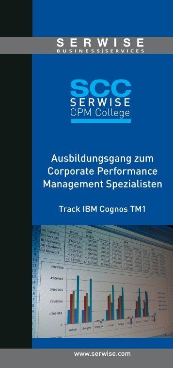 Zielsetzungen CPM Entwickler - Serwise