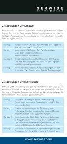 Zielsetzungen CPM Entwickler - Serwise - Seite 4
