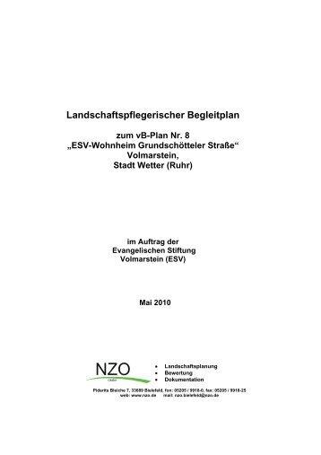 Landschaftspflegerischer Begleitplan - Stadt Wetter