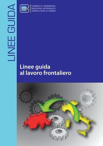 Linee guida al lavoro frontaliero - CCIAA di Varese