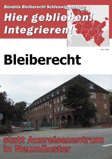 Bleiberecht statt Ausreisezentrum in Neumünster - Pro Asyl