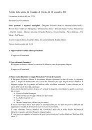28/11/2011 - Direzione Didattica di Budrio