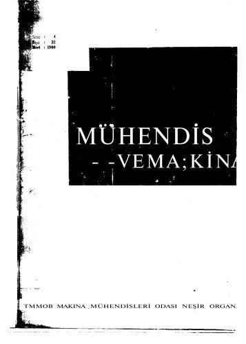MÜHENDİS - TMMOB Makina Mühendisleri Odası Arşivi - Makina ...