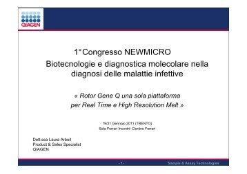 Workshop teorico pratico QIAGEN - NewMicro