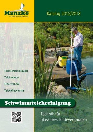 Schwimmteichreinigung - Manzke Landschaftsplanung
