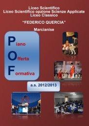 POF 2012-2013 - Liceofedericoquercia.It