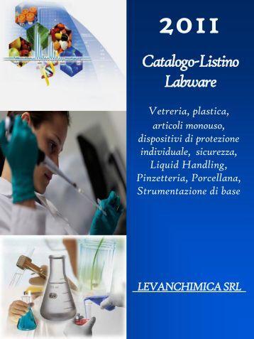 Catalogo-Listino Labware - Levanchimica