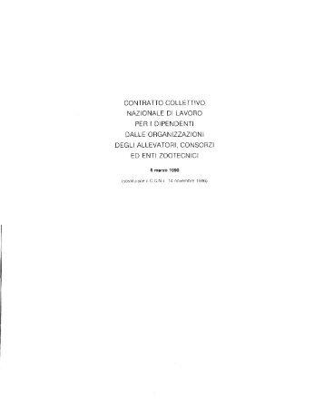 CCNL 6 marzo 1990 - Associazione Italiana Allevatori
