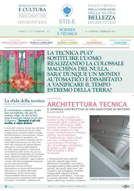 Architettura Tecnica Elena Cecchini Comunicazione Grafica