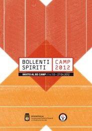 BOLLENTI SPIRITI CAMP 2012