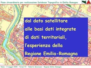 Piano straordinario per realizzazione Database Topografico in ...