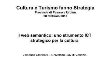 Il web semantico: uno strumento ICT strategico per la cultura ...