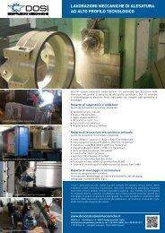 scarica la presenzaione aziendale pdf - Dosi Costruzioni Meccaniche