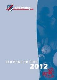 JAHRESBERICHT - TSV Peiting