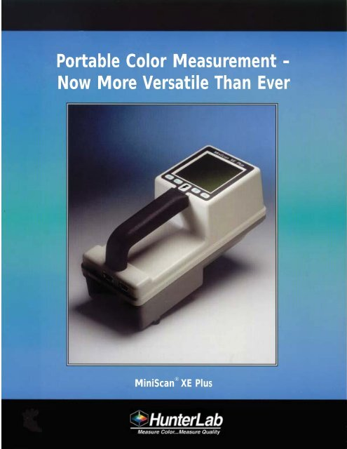 Portable Color Measurement - Now More Versatile Than Ever