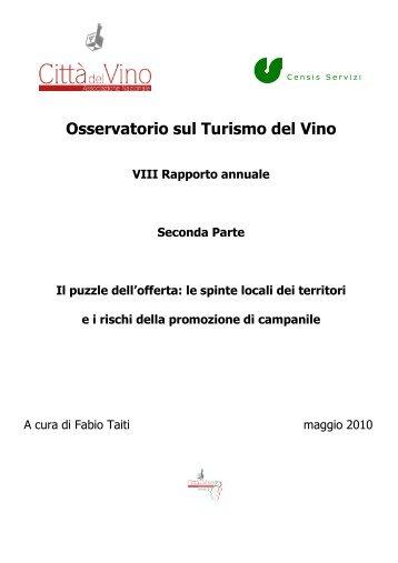 VIII Rapporto - Città del Vino