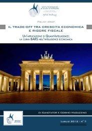 il trade-off tra crescita economica e rigore fiscale - Istituto Machiavelli