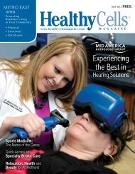 Current Metro East Issue - Healthy Cells Magazine
