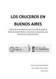 LOS CRUCEROS EN BUENOS AIRES - UPCommons