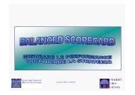 Balanced Scorecard: misurare le performance ... - Confindustria IxI