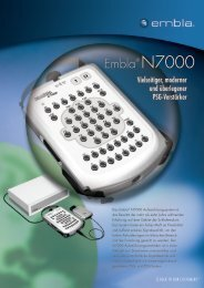 Embla® N7000 - TNI medical AG