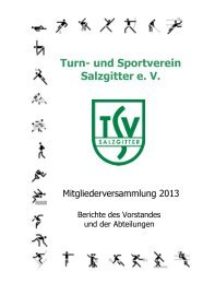 Turn- und Sportverein Salzgitter e. V. - TSV Salzgitter