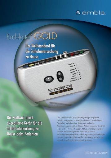 Embletta® GOLD - TNI medical AG