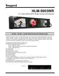 HLM-5003WR - Ikegami