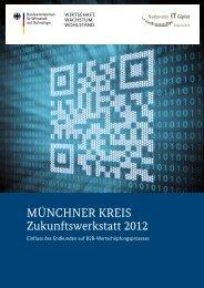 Münchner Kreis Zukunftswerkstatt 2012 Münchne Zukunftswe