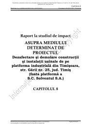 Dezafectare si demolare constructii si instalatii uzinale de pe ...