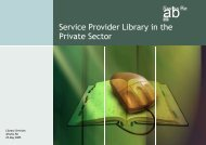 Library Services @ Swiss Re - ABDOS
