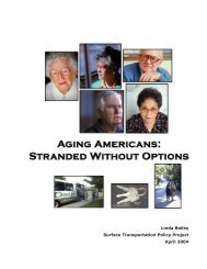 Stranded Without Options - American Public Transportation ...