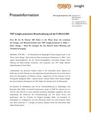 Download vollständige Pressemeldung als PDF - TNT Innight